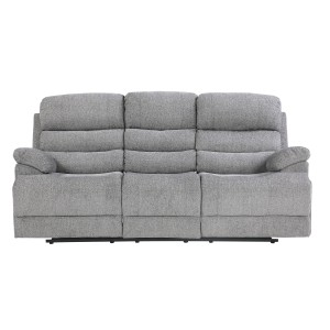 Power Double Reclining Sofa with Power Headrests and USB Ports/9422FS-3PWH