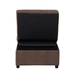 Lift Top Storage Bench with Pull-out Bed/4615-F2