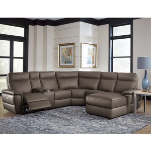 6-Piece Modular Power Reclining Sectional with Right Chaise/8308*6B