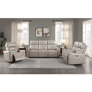 Power Double Reclining Sofa with USB ports/9446CB-3PW