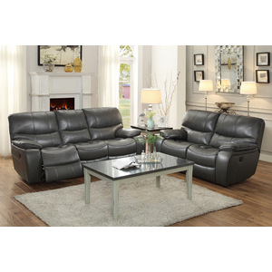 Power Double Reclining Sofa/8480GRY-3PW