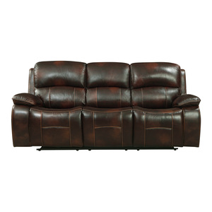 Power Double Reclining Sofa with USB Ports/8200BRW-3PW