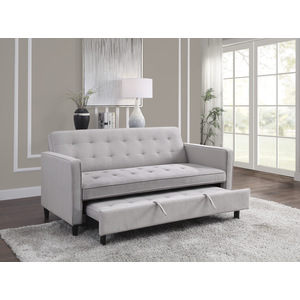 Convertible Studio Sofa with Pull-out Bed/9427DV-3CL
