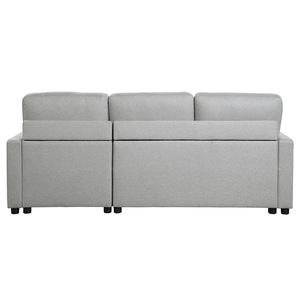 2-Piece Reversible Sectional with Pull-out Bed and Hidden Storage/9359GRY*SC