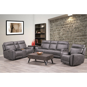 Double Reclining Sofa/9265GRY-3