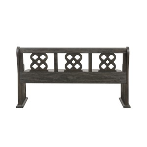 Bench with Curved Arms/5559N-14A